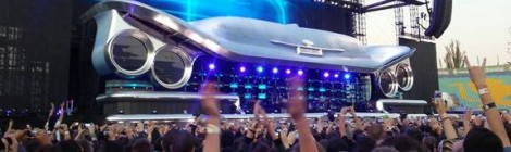Концерт на Bon Jovi, 2013, рампа за инвалиди, кули за следачи